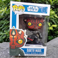 Funko Pop Star Wars Darth Maul No.09 Vinyl Bobble Head PVC Action Figure Toys Collectible doll for kids in stock wholesale