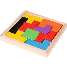 Baby Educational Toys Katamino Blocks Wood Learning Tetris Tangram Slide Building Children Wooden Gift
