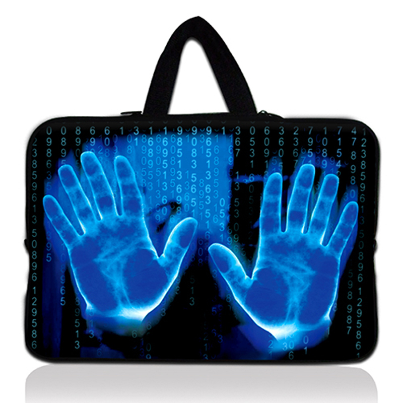 Hands 17 17.3 Laptop Bag Sleeve Carry Case Cover + Handle For Dell Alienware M17x PC Handbag