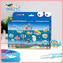 DOLLRYGA Water Beads Set Education Spray Bead 66621C Quality juguetes Beads DIY Toys for Children Aqua Perlen Kid Bead Girl Gift
