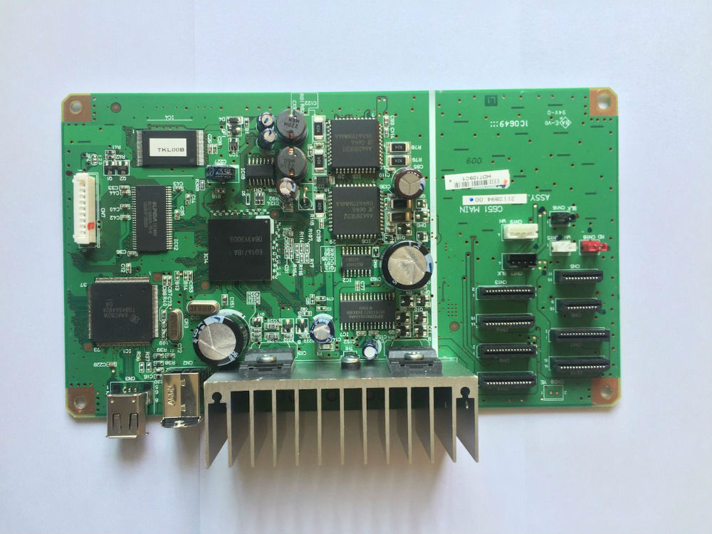 FORMATTER PCA ASSY C651 logic Main Board MainBoard for Epson R2400 2400 printer jv33 keyboard pcb assy printer parts