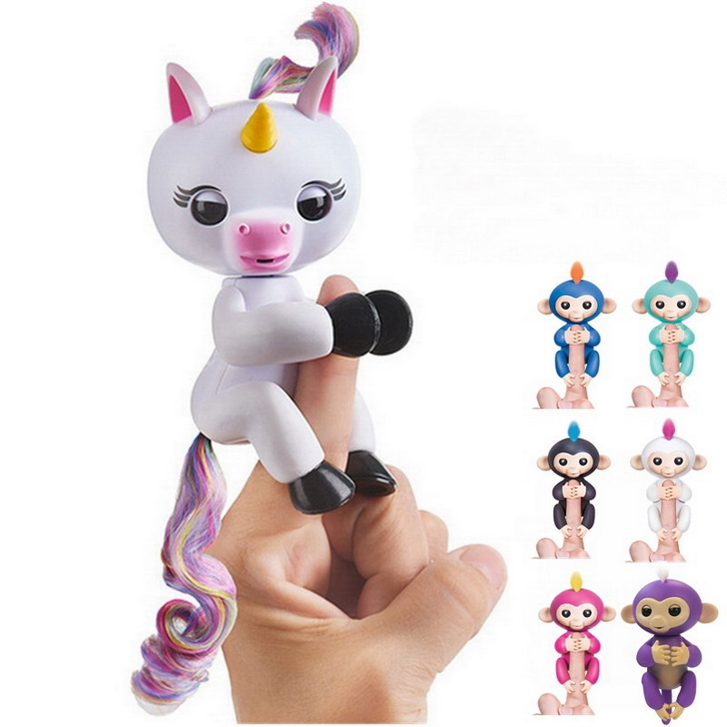 Monkey Unicorn Magic Surprise Toy Interactive Baby Finger Monkey Toys Art For Kids Christmas Decorations For Home creative kids toys tumbling monkey game falling toy tumbling monkey parent child interactive learning educational toys for child