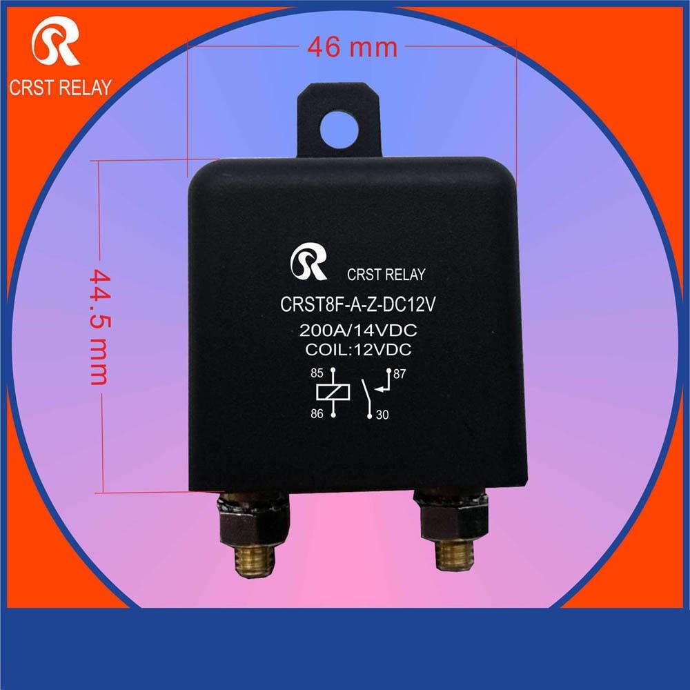 Crst8f 12 В 24 В часто открывать автоматическое реле высокое качество 100A 200A большой ток и высокой Мощность 4 Средства ухода за кожей стоп