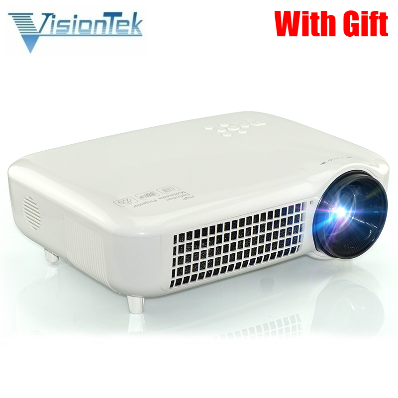 7500lm Hd Home Theater Multimedia Lcd Led Projector 1080: 2017 Hot Sale Original VisionTek VS627 Multimedia LCD