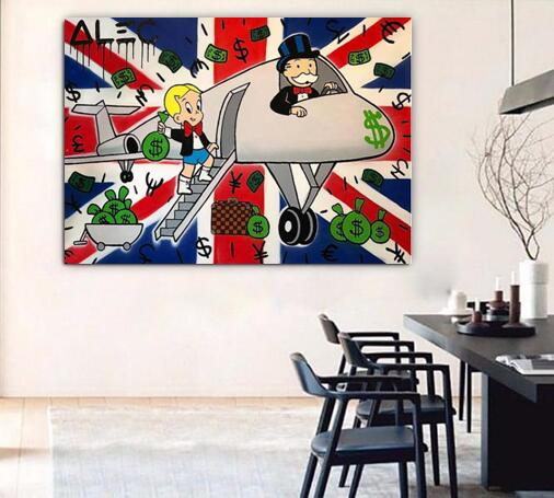 popular Oil Painting hand painted pop art on Canvas Urban art wall ...