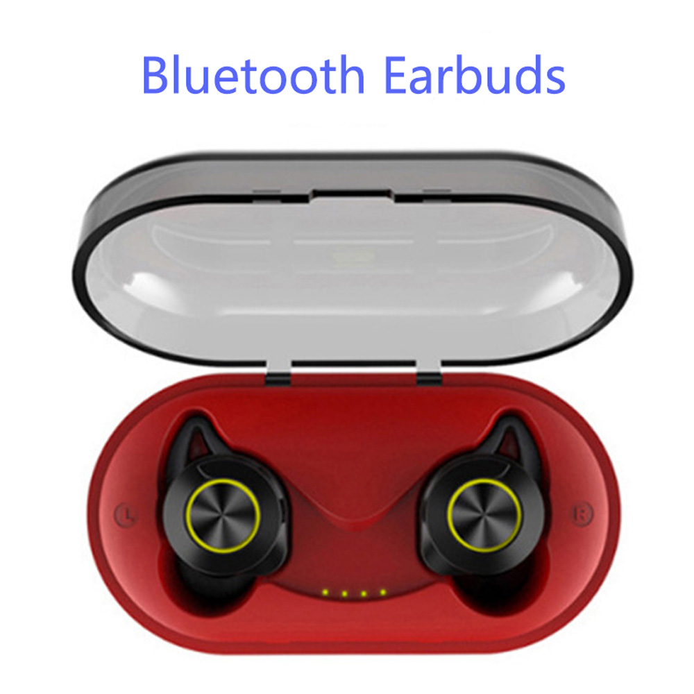True Wireless Earphones,Bluetooth Earbuds with Graphene Driver Technology and 24 Hours Battery Life wireless bluetooth earphone