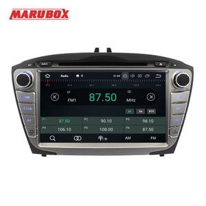 Image 2 - Marubox 2Din Android 9 4GB RAM สำหรับ HYUNDAI ix35 Tucson 2009 2014 วิทยุสเตอริโอ GPS Navi รถ DVD เครื่องเล่นมัลติมีเดีย 8A301PX5