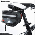 WEST BIKING Bike Cycling triangle Bag Bicycle Saddle Bag Back Seat Tail Pouch Package