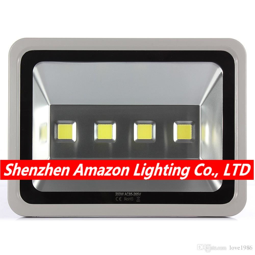 8pcs 200W Led Flood light AC85-265V Warm White/Natural White/Cool White Waterproof Spotlight Led Floodlight Outdoor lighting цена 2017