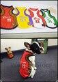 Primavera/Verão Colete Camisa De Basquete Legal Respirável Roupa do Filhote de Cachorro do animal de Estimação Do Cão Ao Ar Livre Sportswear Algodão Moda camisa Do Cão XS-6XL