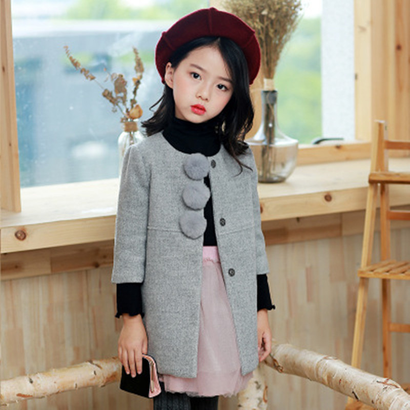 Baby Girl Jackets Girls Clothes Trench Coats Kids Clothing Tops Children Windbreaker Winter Thick Jacket Autumn Outerwear Coat