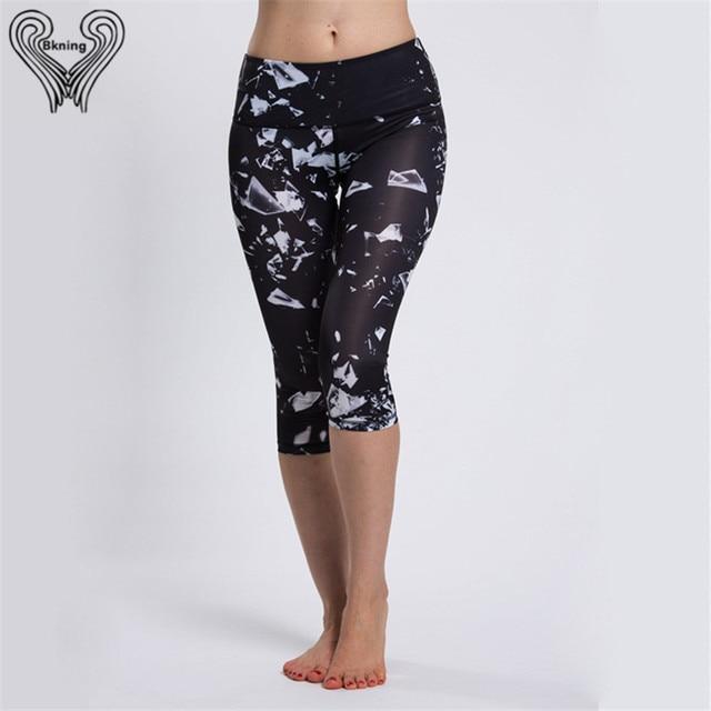 Yoga Women 3/4 Short Pants Skinny Leggings Running