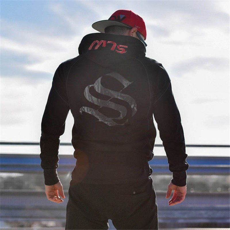 Männer Marke Turnhallen Hoodies Turnhallen Fitness Bodybuilding Sweatshirt Mode Pullover Sportswear Männlichen Workout Mit Kapuze Jacke Kleidung