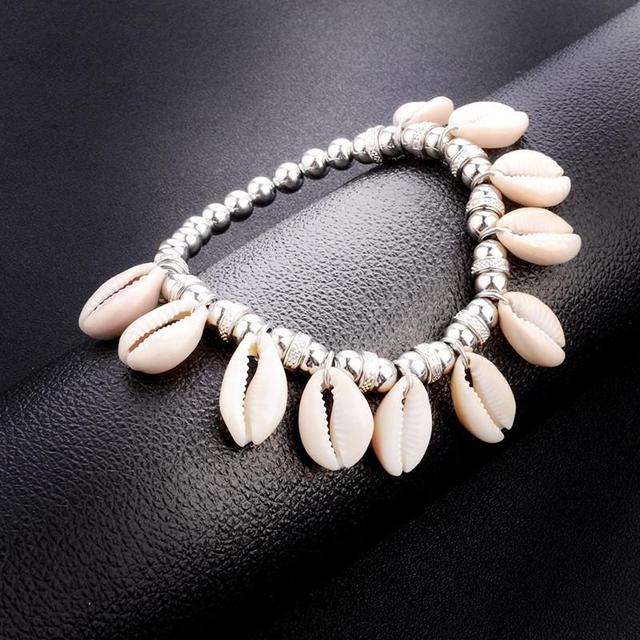 Women's Cowrie Shell Anklet 2
