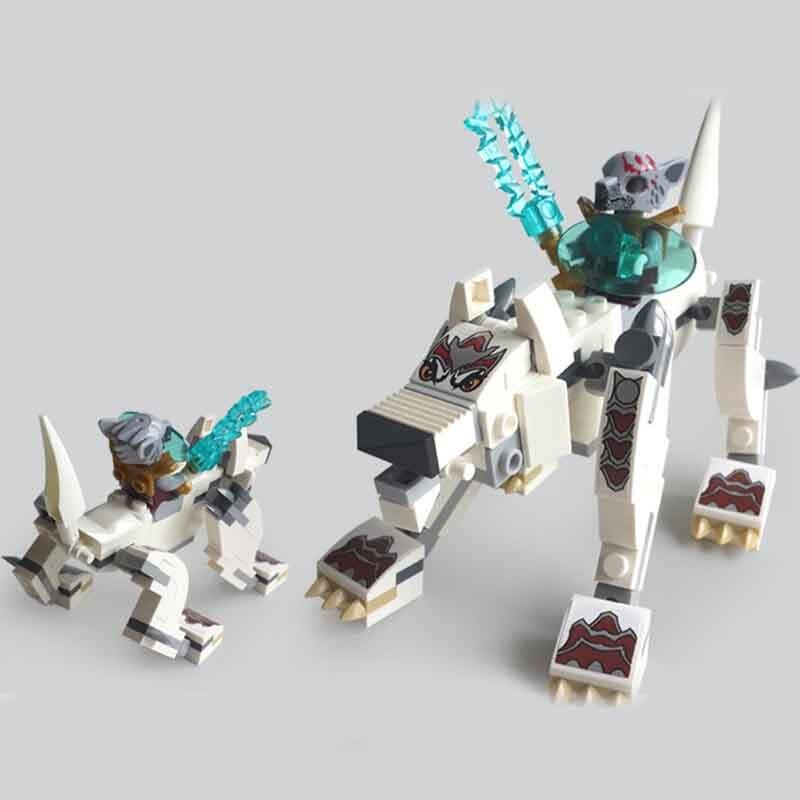 Qigong legendary animal editon CHIMAED Super Hero рисунок строительный блок кирпич для детей подарок Детская игрушка Совместимость с Legoings