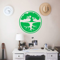 CartoonTreee Wall Stickers Personalized Creative For Boys Bedroom Decals Removable Mural