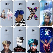 Newest Fashion xxxtentacion Hip Hop Rapper Soft silicone Phone Case Cover For Samsung Galaxy A3 2016 J3 A5 A7 J5 2015 J7 2017