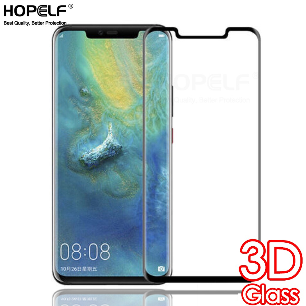 On The Glass For Huawei Mate 20 Lite Pro Screen Protector 3D Curved Full Protective Tempered Glass For Huawei Mate 20 Pro Lite