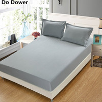 8 Colour Can Wholesale Solid Color Sheets Fitted Bed Sheet Elastic Mattress Cover Bed Linen Bedspread