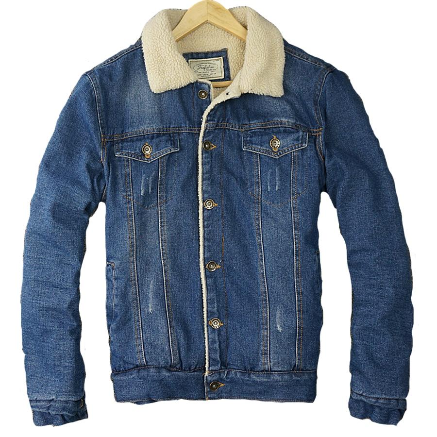 Nieuwste Mode Jassen : Hot nieuwe herfst winter mannen mode jeans jassen merk jas