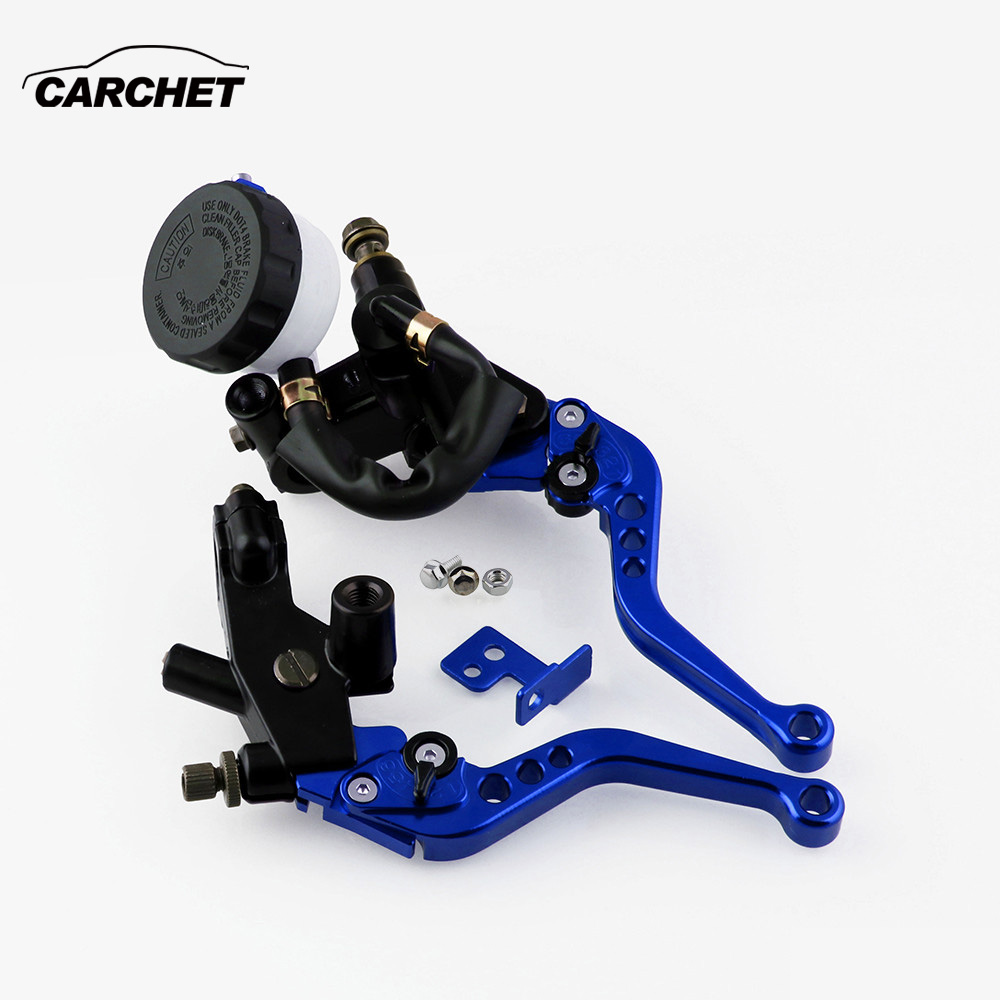 CARCHET Universal Motorcycle Modified Hydraulic brake clutch handbrake elliptical oil cup Accessories
