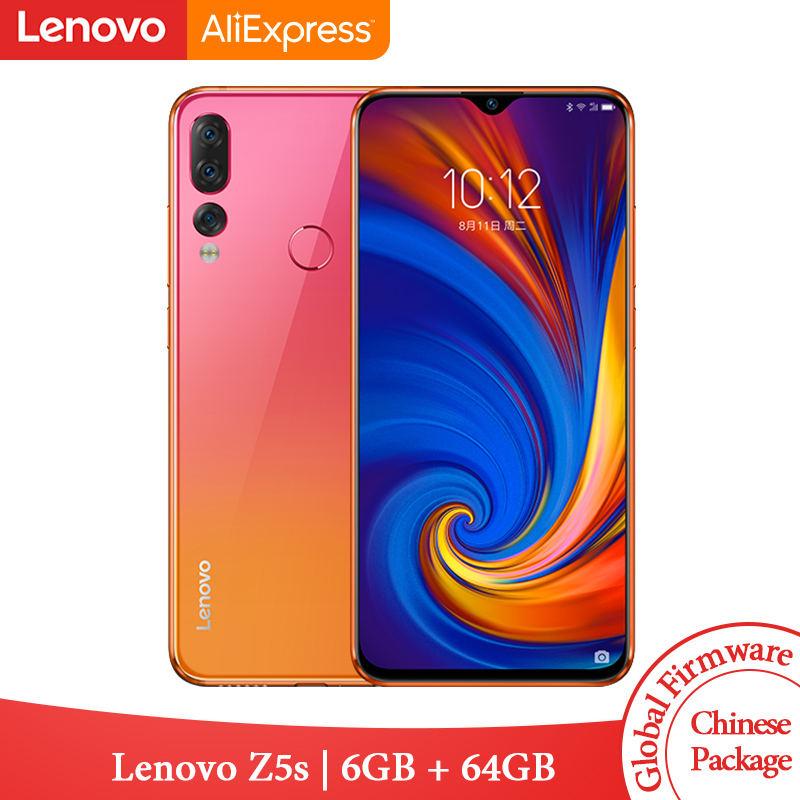Global ROM Lenovo Z5s Snapdragon 710 Octa Core 6GB 64GB Mobile Phone Face ID 6 3inch