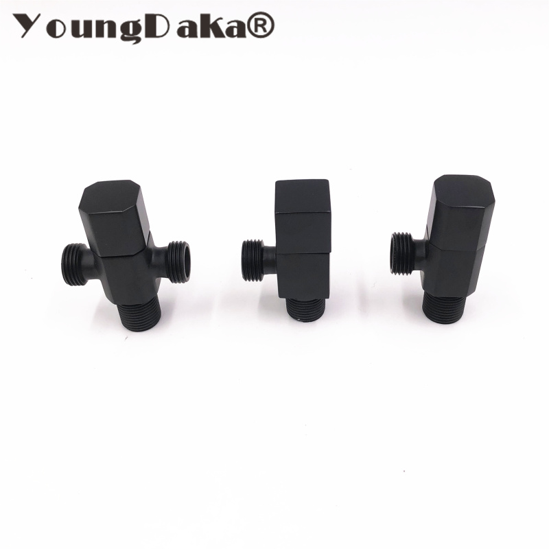 Permalink to 2018 Brass Angle Valve Bathroom Bidet Valve Bathroom Accessories Black Finish Filling Valves Toilet Valve Bathroom Parts