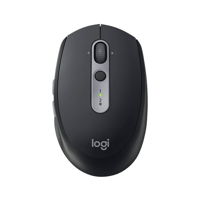 Logitech M590 Wireless Mouse ,Unifying Bluetooth Dual mode Computer Laptop Flow Mouse ,2.4G Wirelss Mini Mute Silent mice original rapoo silent wireless optical mouse mute button click mini noiseless game mice 1000 dpi for macbook pc laptop computer