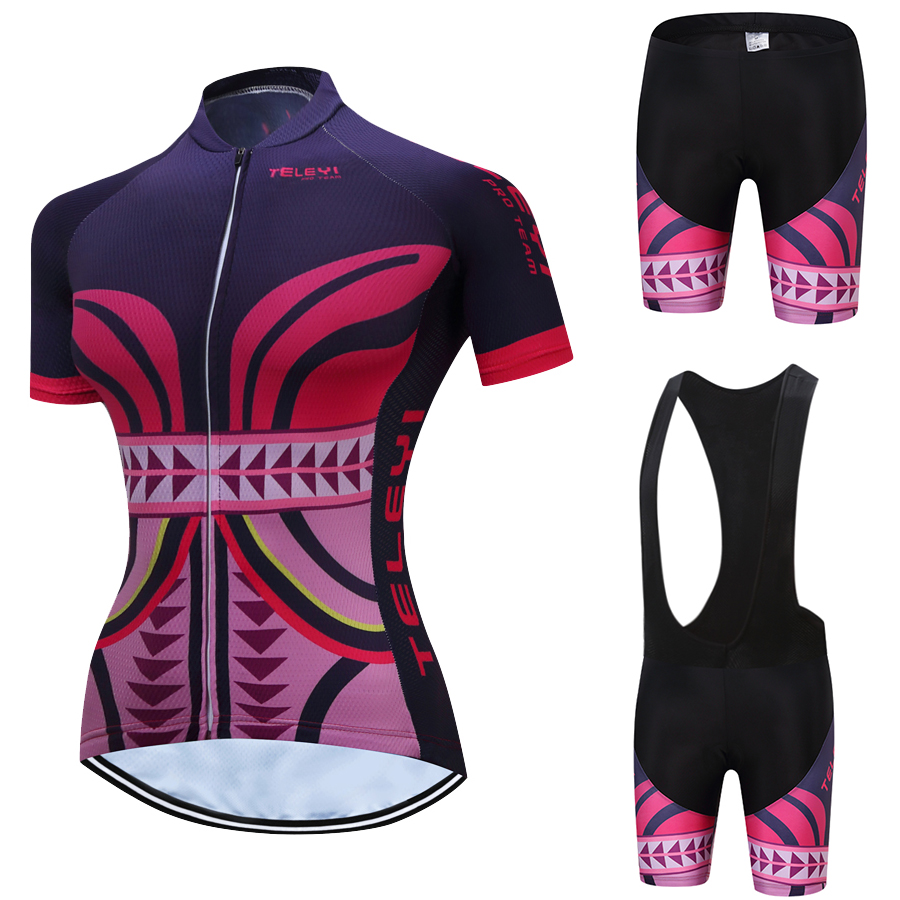 1392301bd Detail Feedback Questions about TELEYI Pro 2019 Women Cycling Jersey Set Wear  Ropa Ciclismo Team Mountain Road Race Bike Suit Bib Shorts Cycling Set  ODM OEM ...