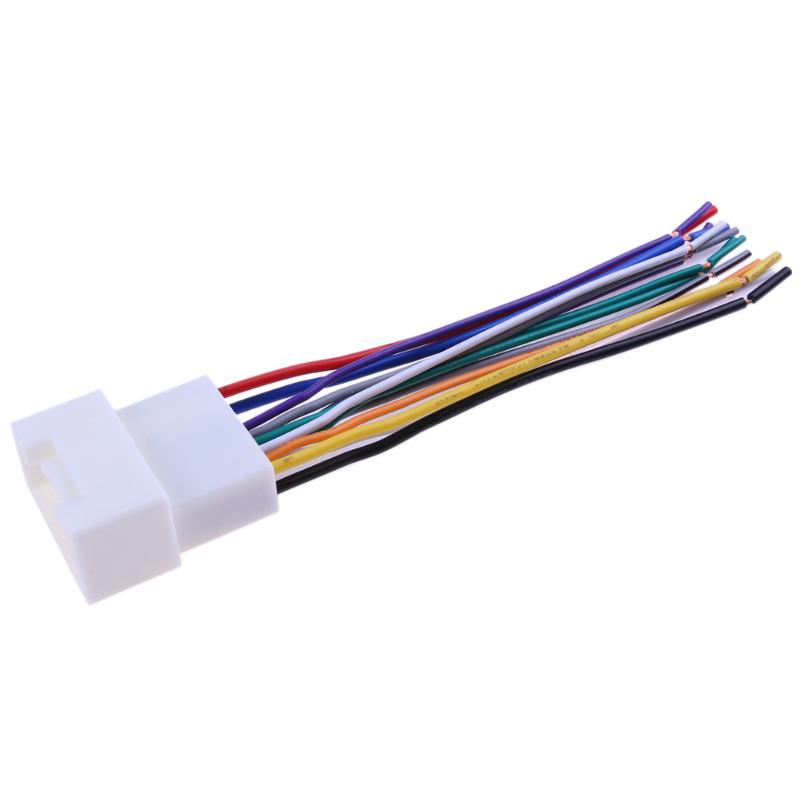 Car Stereo CD Player Wiring Harness Connect Wire Cable Aftermarket ...