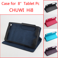 Luxury Business Style Utra Thin Folding Stand Flip Leather Cover Case For Chuwi Hi8 8 Inch