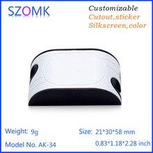 Szomk СВЕТОДИОДНЫЕ пластиковые коробки для электронных компонентов 10 шт., 21*30*58 мм pcb design пластиковые корпуса для электроники пластиковый корпус