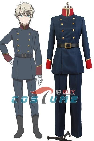 Anime Aldnoah.Zero Slaine Troyard Cosplay Costume Halloween Costumes