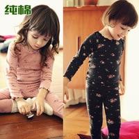 Winter Kids Sets Thermal Keep Warm Underwear Winter Clothes For Children Girls Children Long Johns Clothes