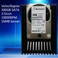 VelociRaptor 300 ГБ 3.5 дюйма SATA 16 М 10000RMP Сервер ЖЕСТКИЙ ДИСК Гарантия 1 год