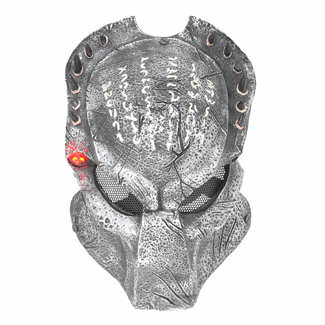 Newest army of two mask paintball airsoft wire mesh predator masks newest army of two mask paintball airsoft wire mesh predator masks hallowmas cosplay full face luminous voltagebd Image collections