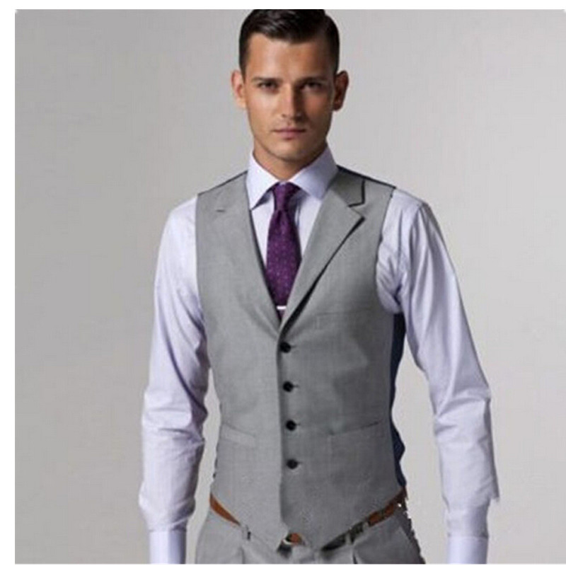 Mens Light Grey Suit Vest Promotion-Shop for Promotional Mens ...