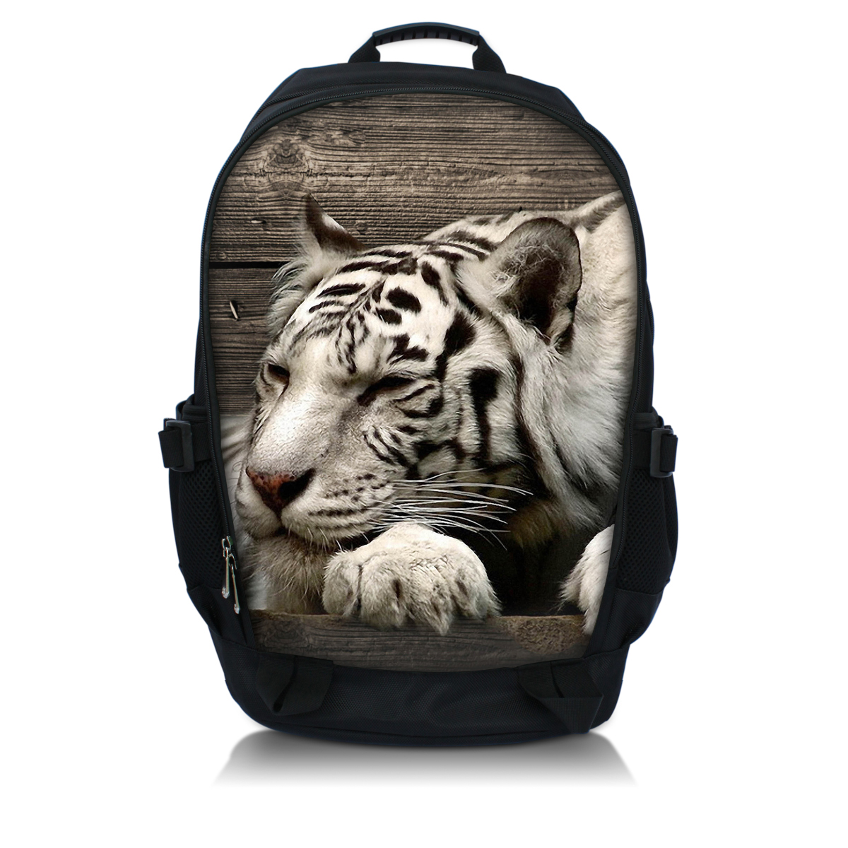 Hard-Working White Tiger Women 14 15 15.6 Inch Backpack High Quality Youth Backpacks For Teenage Girls Female School Shoulder Bag Bagpack
