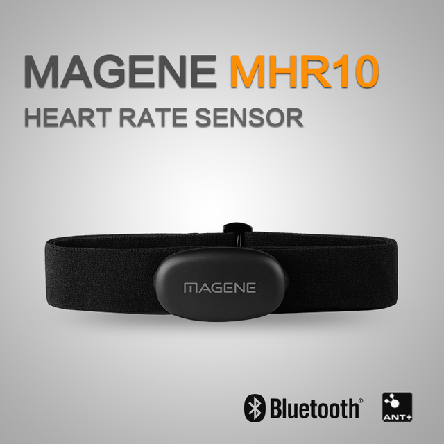 Bluetooth4.0 ANT+ Heart Rate Sensor Compatible GARMIN Bryton IGPSPORT Computer Running Sport Bike Heart Rate Monitor Chest Strap