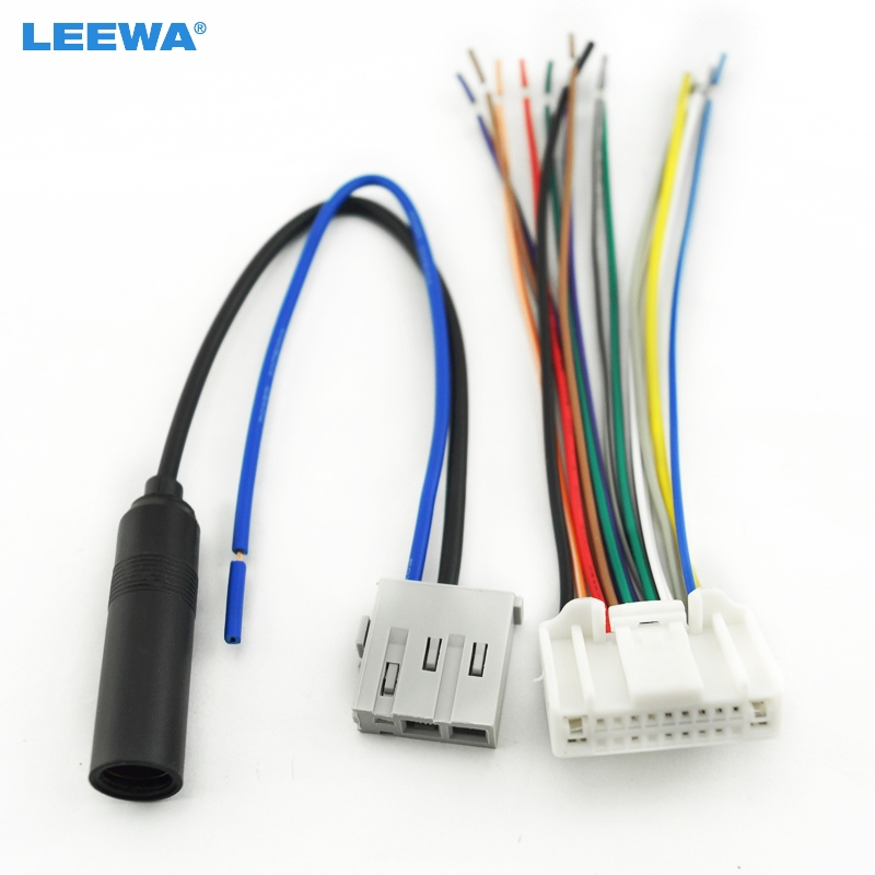 stereo wiring harness adapters
