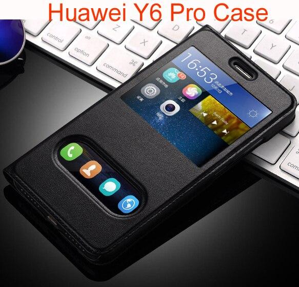 принципиально для Huawei Y6 Pro Case роскошные искусственная кожа