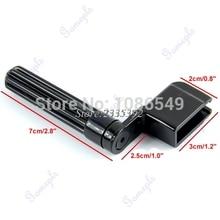 New Acoustic Electric Guitar String Winder Peg Bridge Pin Tool Plastic Black