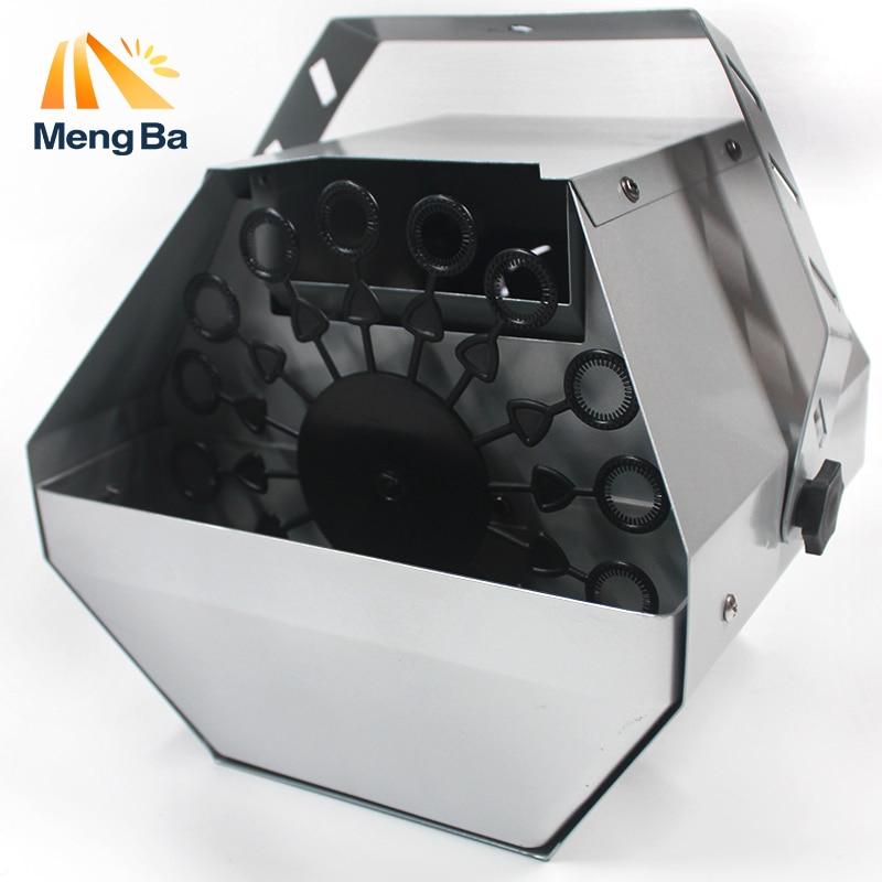 MengBa Mini máquina de burbujas Control remoto efecto de etapa decoraciones de Navidad para el hogar de la boda equipo de efectos especiales