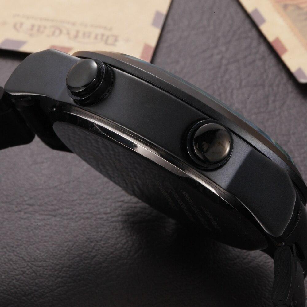 OHSEN Marca Analógico LED Digital Zona Horaria Múltiple Ejército - Relojes para hombres - foto 4