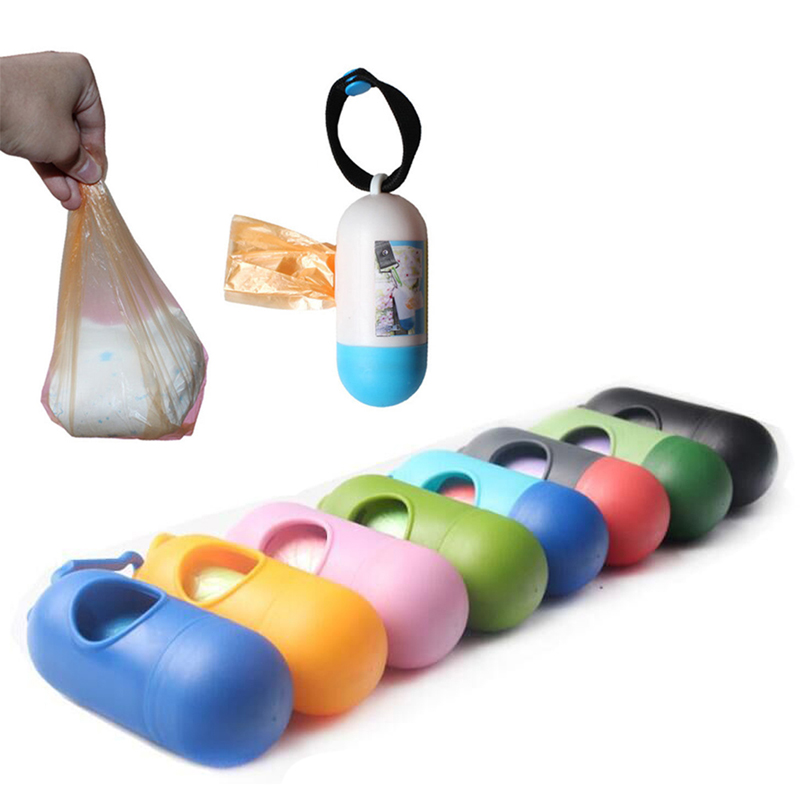 Disposible Rubbish Bags With Storage Box Case Baby Stroller Accessory Diapers Nappy Pet Garbage Abandon Bags With Removable Box Without Return