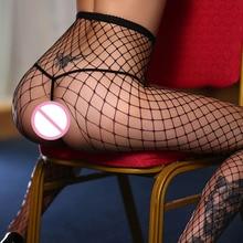 Women Sexy Open Crotch Pantyhose Stocking Sexy Lingerie Underwear Lady Crotchless Tights Fishnet Stockings Medias Rejilla B5021 цена 2017