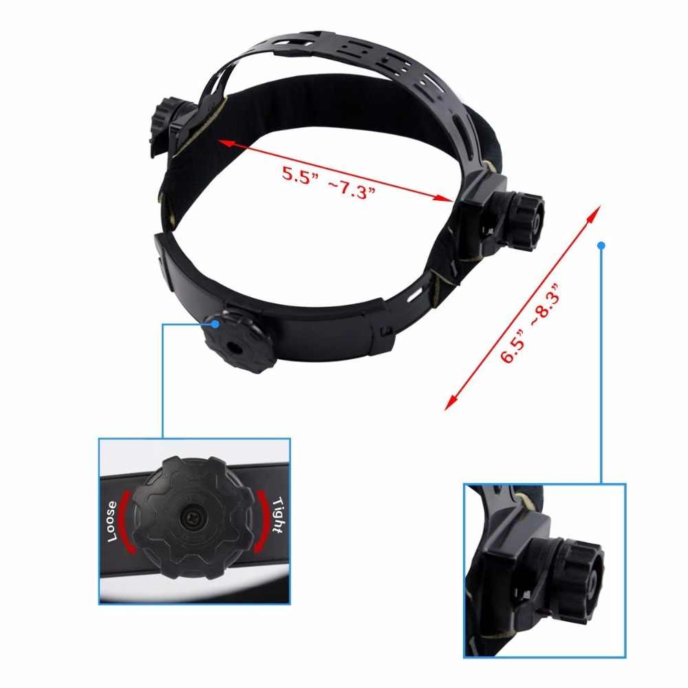 DEKO DKMZ350 Автоматическое затемнение Сварочная маска для MIG MMA TIG сварочный шлем очки светофильтр сварщик паяльная работа