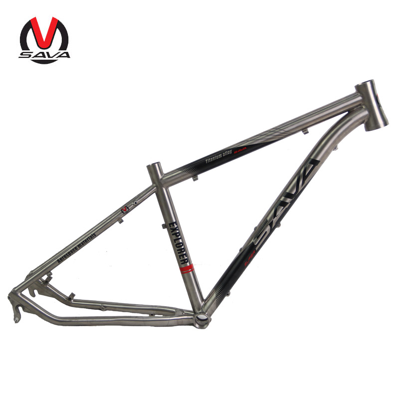 2016 titanium mtb bike frame 650b 2627529 inch titanium mountain bike frame bicycle frame bicycle parts 16 17 19
