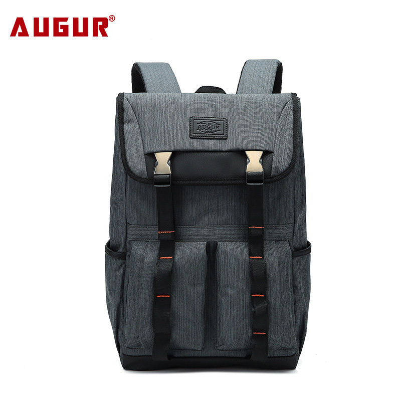 AUGUR 2018 Brand Men Backpack Larger Capacity Travel Bag Laptop Back pack For Male Waterproof Teenage college Day back