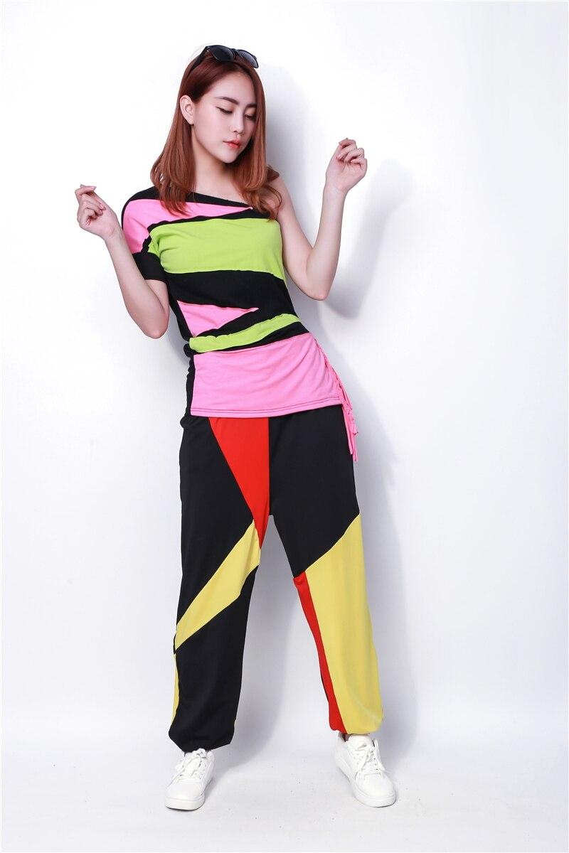 Nova modna blagovna znamka hip hop vrhunski ženski Jazz ds kostumski - Ženska oblačila - Fotografija 5